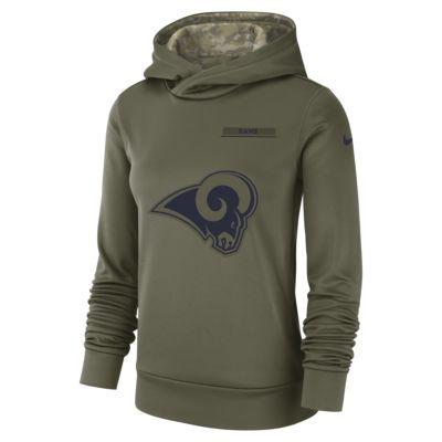 Nike Therma Salute to Service (NFL Rams) Women's Hoodie