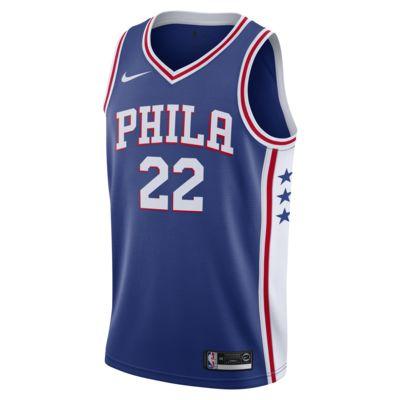 Matisse Thybulle 76ers Icon Edition Swingman Nike NBA-jersey