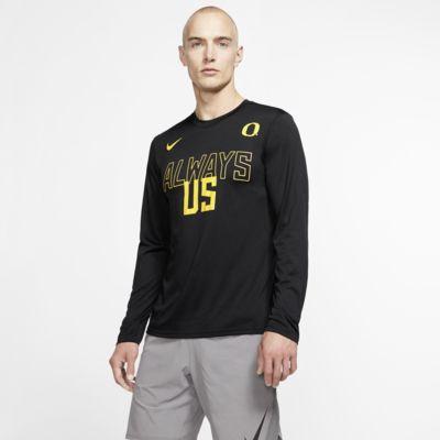 Nike College Dri-FIT Legend (Oregon) Men's Long-Sleeve T-Shirt