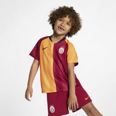 Galatasaray 2019/20 Home Fußballtrikot-Set für jüngere Kinder
