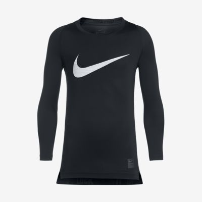 Nike Pro Combat Hypercool - Compression HBR Long-Sleeve
