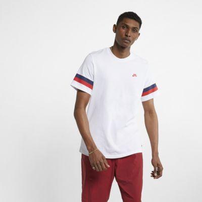 Ανδρικό ριγέ T-Shirt skateboarding Nike SB