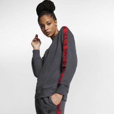 Nike Sportswear Sudadera con estampado animal - Mujer