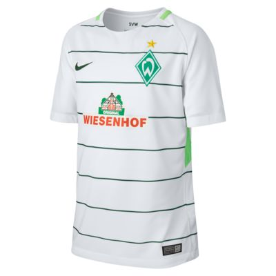 2017/18 Werder Bremen Stadium Away Older Kids' Football Shirt