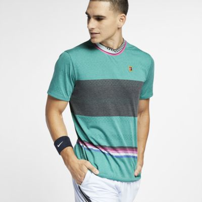 Męska koszulka z krótkim rękawem do tenisa NikeCourt Challenger