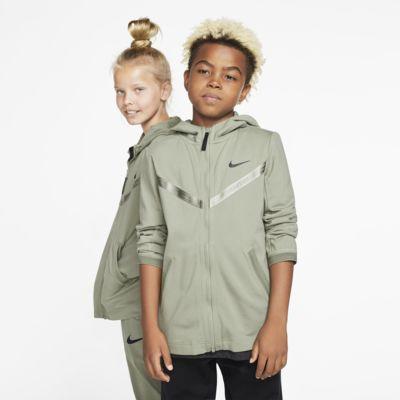 Sweat à capuche à zip intégral Nike Sportswear Tech Pack pour Enfant plus âgé