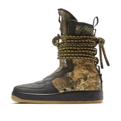 good texture temperament shoes check out Nike SF Air Force 1 Realtree® High Men's Boot