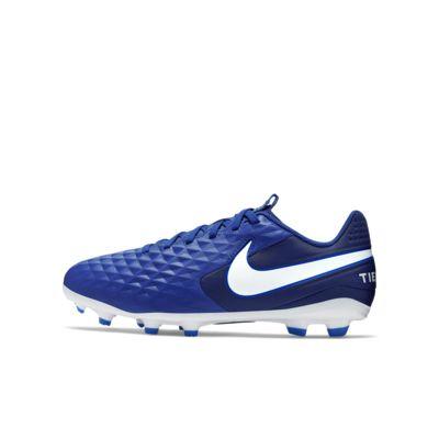 Calzado de fútbol para múltiples superficies para niño talla pequeña/grande Nike Jr. Tiempo Legend 8 Academy MG