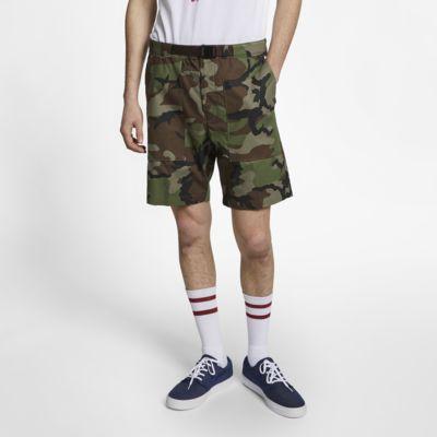 กางเกงสเก็ตบอร์ดขาสั้นผู้ชายลายพราง Nike SB