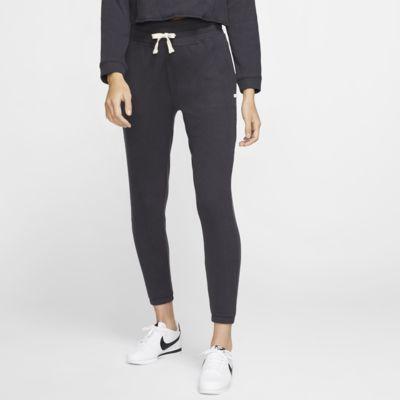 Pantalones de entrenamiento de tejido Fleece para mujer Hurley Chill Rib