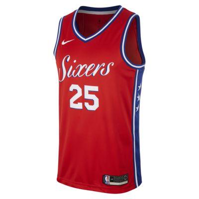 Ben Simmons Statement Edition Swingman (Philadelphia 76ers) Men's Nike NBA Connected Jersey