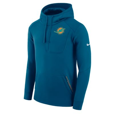 Nike Fly Fleece (NFL Dolphins) kapucnis, belebújós férfipulóver