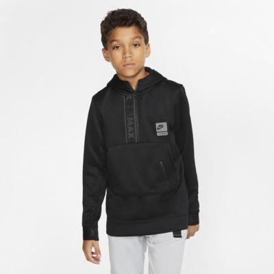 Nike Air Max Older Kids' Half-Zip Hoodie
