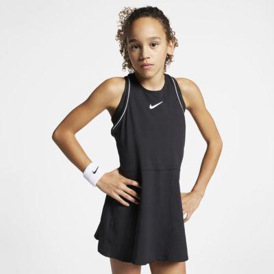 Теннисное платье для девочек школьного возраста NikeCourt Dri-FIT