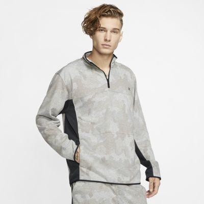Prenda para la parte superior de tejido Fleece con cierre de 1/4 para hombre Hurley Dri-FIT Naturals