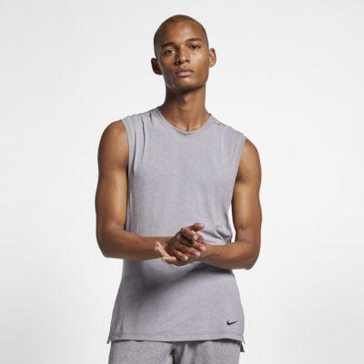 Pánské tréninkové tílko na jógu Nike Dri-FIT