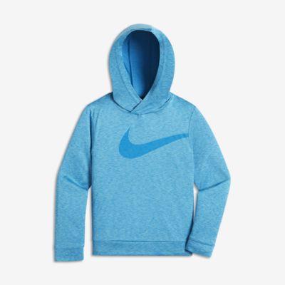 Mikina s kapucí Nike Dry Swoosh pro malé děti (chlapce)