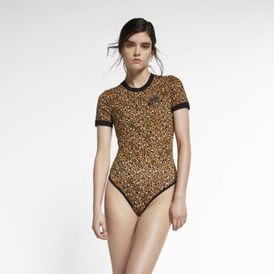 Nike Sportswear Animal Print Damen-Bodysuit