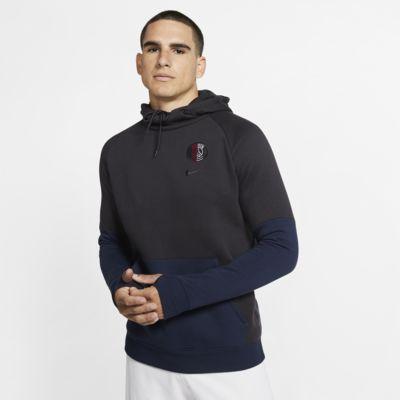 Sudadera con capucha sin cierre de tejido Fleece para hombre Paris Saint-Germain