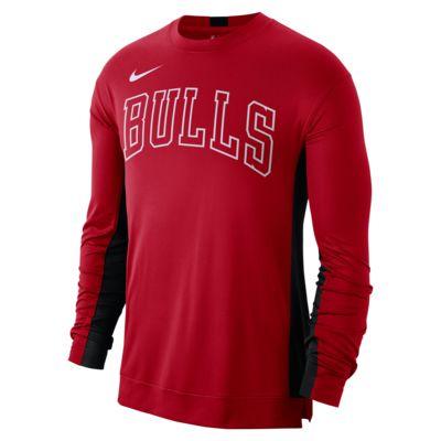 Maglia da riscaldamento Chicago Bulls Nike Dri-FIT NBA - Uomo