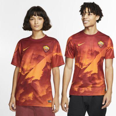 Prenda para la parte superior de fútbol de manga corta para hombre A.S. Roma