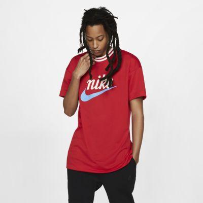 Pánské síťovinové tričko Nike Sportswear s grafickým motivem