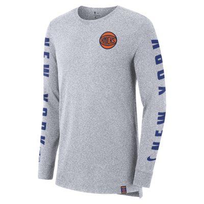 เสื้อยืด NBA แขนยาวผู้ชาย New York Knicks City Edition Nike