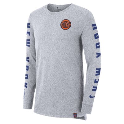 New York Knicks City Edition Nike Men's Long-Sleeve NBA T-Shirt