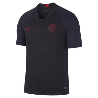Nike Breathe Paris Saint-Germain Strike Men's Short-Sleeve Football Top