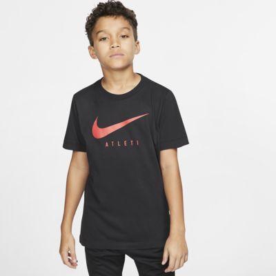 Nike Dri-FIT Atlético de Madrid-fodbold-T-shirt til store børn