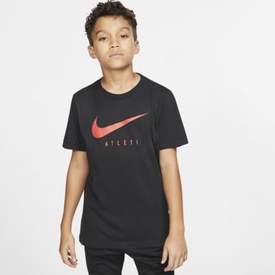 Tee-shirt de football Nike Dri-FIT Atlético de Madrid pour Enfant plus âgé