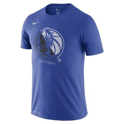 Dallas Mavericks Nike Dri-FIT NBA-T-skjorte til herre