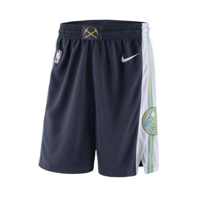 Denver Nuggets Nike Icon Edition Swingman Men's NBA Shorts
