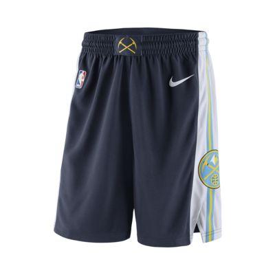Shorts Denver Nuggets Nike Icon Edition Swingman NBA för män