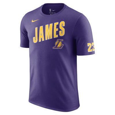 Los Angeles Lakers Nike Dri-FIT 男款 NBA T 恤