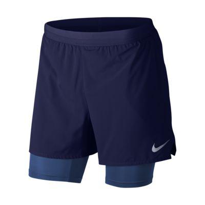Short de running Nike Flex Stride 2 in 1 12,5 cm pour Homme