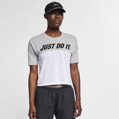 Nike Tailwind 女子短袖跑步上衣