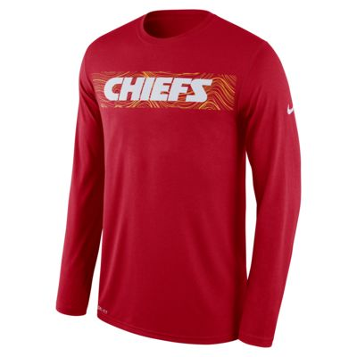 Nike Dri-FIT Legend Seismic (NFL Chiefs) Men's Long Sleeve T-Shirt