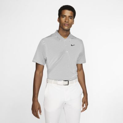 Polo de golf a rayas para hombre Nike Dri-FIT