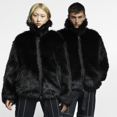 Nike x Ambush Women's Reversible Faux-Fur Coat