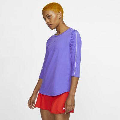 NikeCourt Women's 3/4-Sleeve Tennis Top