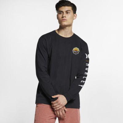Pánské tričko Hurley Premium Hexer s dlouhým rukávem