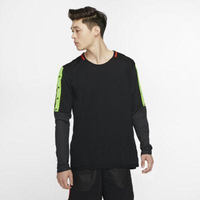 Långärmad löpartröja Nike för män