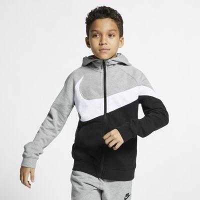 Hoodie com fecho completo Nike Sportswear para criança