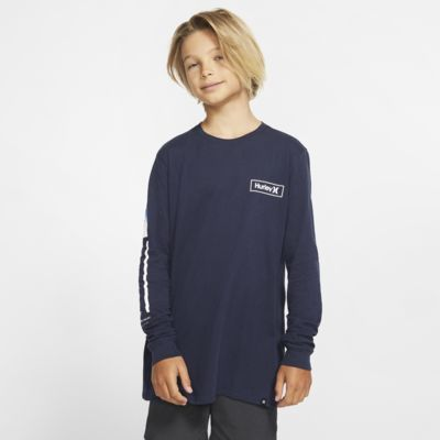 Hurley Premium Right Arm Boys' Premium Fit Long-Sleeve T-Shirt