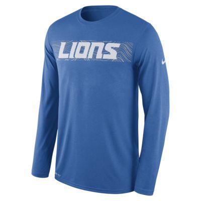 Nike Dri-FIT Legend Seismic (NFL Lions) Men's Long Sleeve T-Shirt