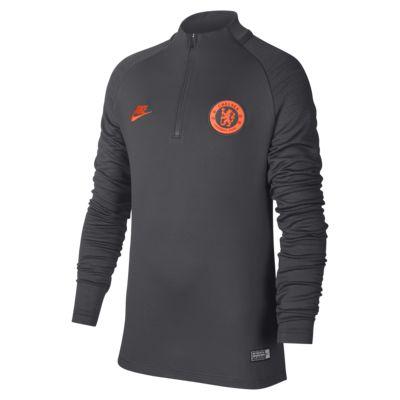 Camisola de treino de futebol Chelsea FC Strike Júnior