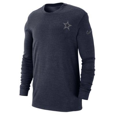Nike Sideline Coach (NFL Cowboys) Men's Long Sleeve Top