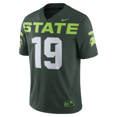 Nike College Game (Michigan State) Men's Football Jersey