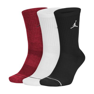 Jordan Jumpman Crew - basketballstrømper (3 par)